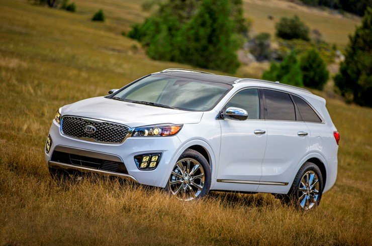 All-new 2016 Kia Sorento